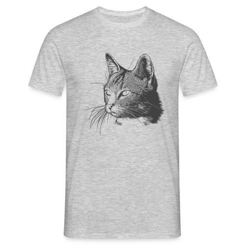 MIrada felina - Camiseta hombre