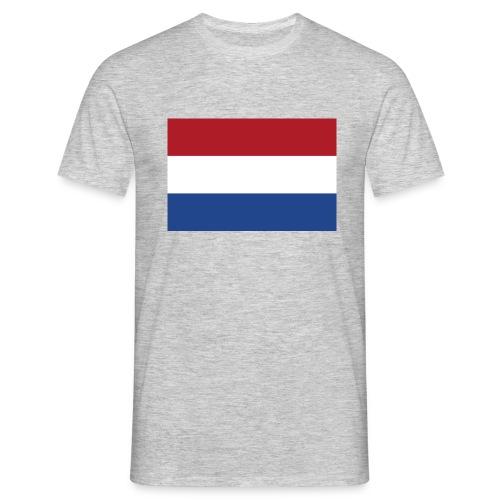 Dutch Flag - Mannen T-shirt