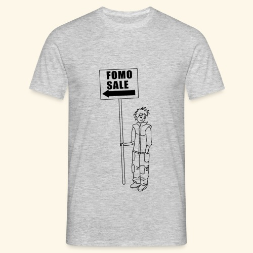 Fomo sale sign - Men's T-Shirt