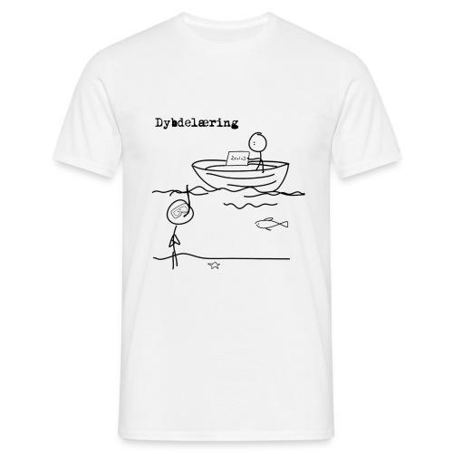 Dybdelæring2 - T-skjorte for menn
