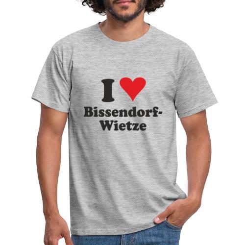 I Love Bissendorf-Wietze - Männer T-Shirt