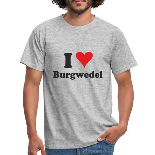 I Love Burgwedel - Männer T-Shirt