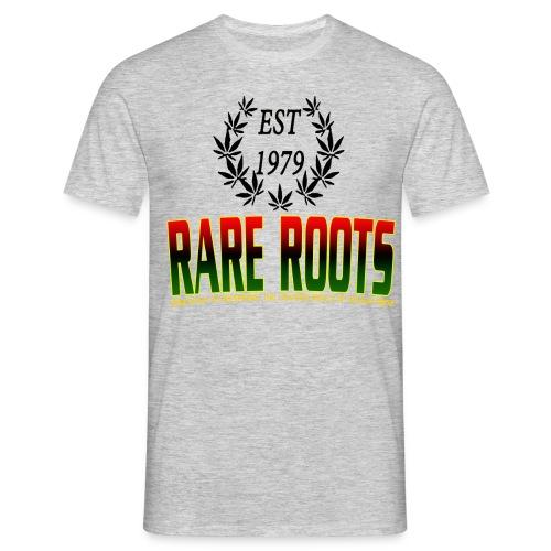 RARE ROOTS MANTRA - Men's T-Shirt