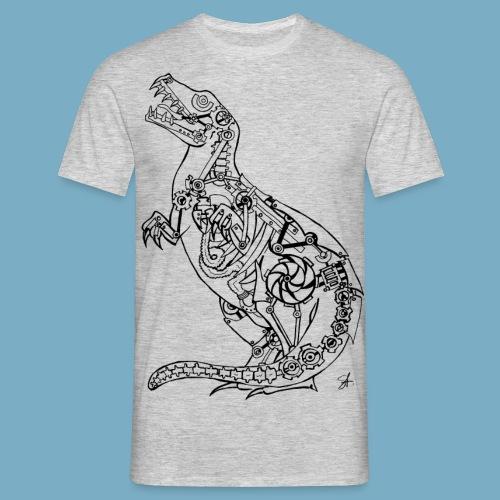 Rex black - Männer T-Shirt