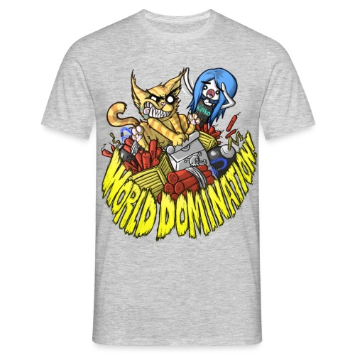 WORLD DOMINATION - Men's T-Shirt