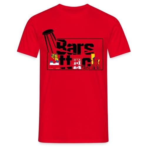 BarsAttack Rostock-Hamburg-Oldenburg Edition - Männer T-Shirt