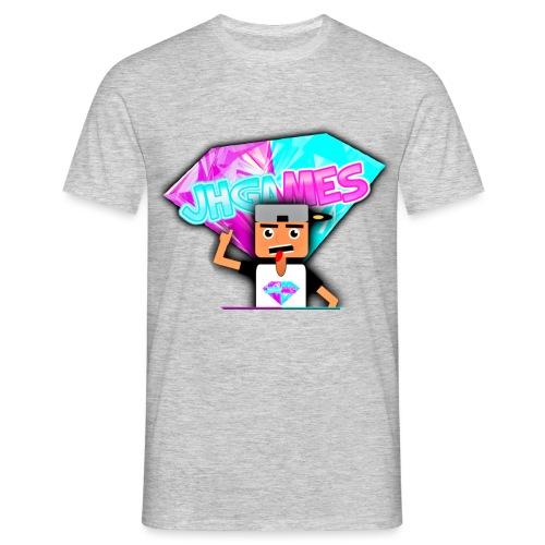 JHGAMES Nieuwe Logo 2 jaar bestaan van JHGAMES - Mannen T-shirt