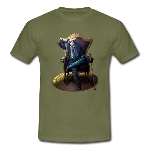 Bitcoin Monkey King - Gamma Edition - Männer T-Shirt