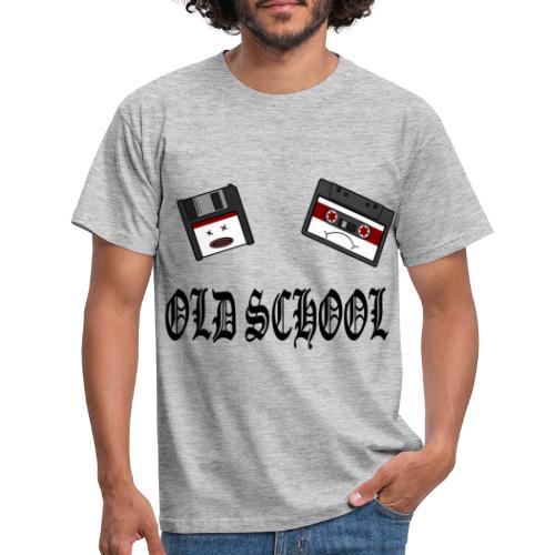Old School Design - Männer T-Shirt
