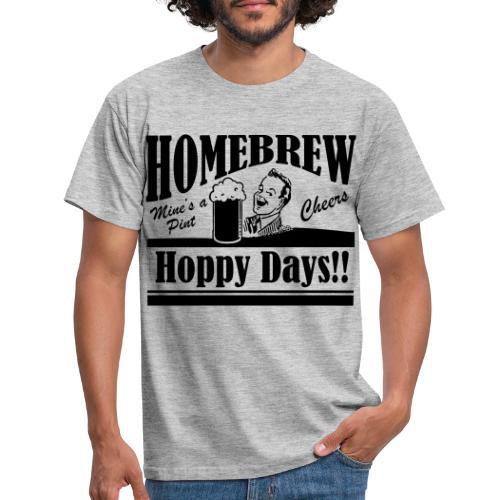 Hoppy Days - Men's T-Shirt