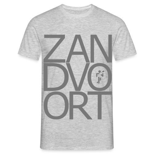 Zandvoortschrift_high - Männer T-Shirt