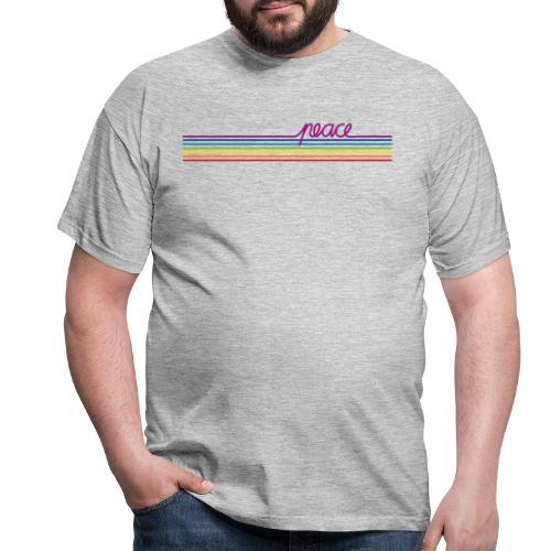 Peace - Spaziershirt - Männer T-Shirt