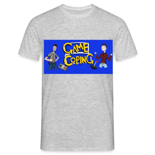 Game Coping Happy Banner - Men's T-Shirt