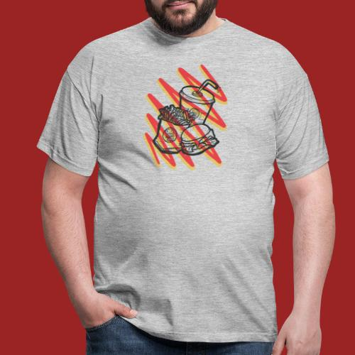 fastfoo-die - Maglietta da uomo