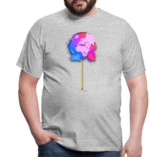 TShirt lollipop world - T-shirt Homme