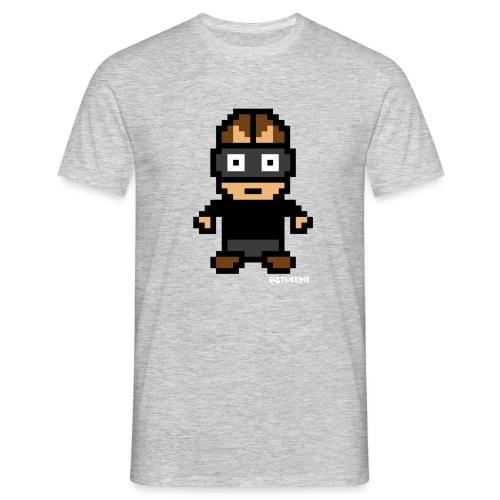 Die Zock Stube - Pixel Patrick - Männer T-Shirt
