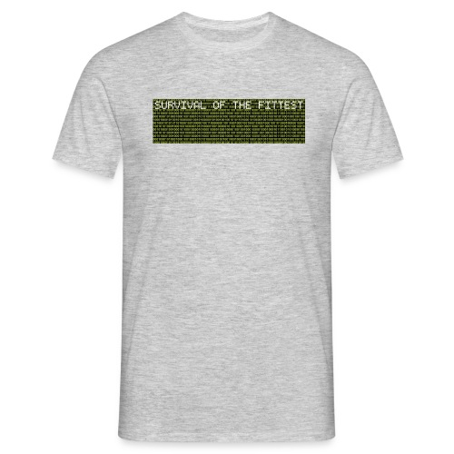 survival data - Männer T-Shirt