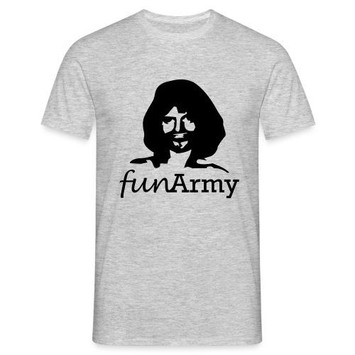 funarmy-head+titel - Men's T-Shirt