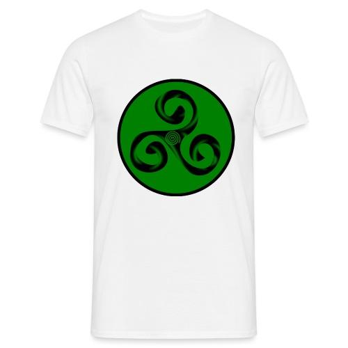 Triskel and Spiral - Camiseta hombre