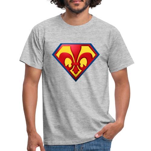 Fabulous Scout - Lilie im Wappen - Männer T-Shirt