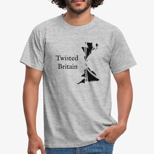 Twisted Britain Logo - Men's T-Shirt