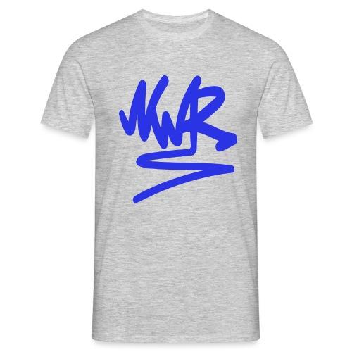 NWR blue - Men's T-Shirt
