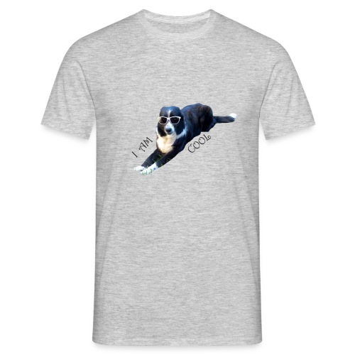 border collie cool - T-shirt Homme