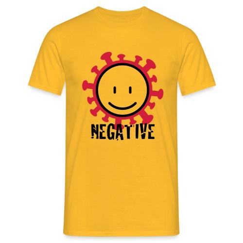 negative corona - Mannen T-shirt