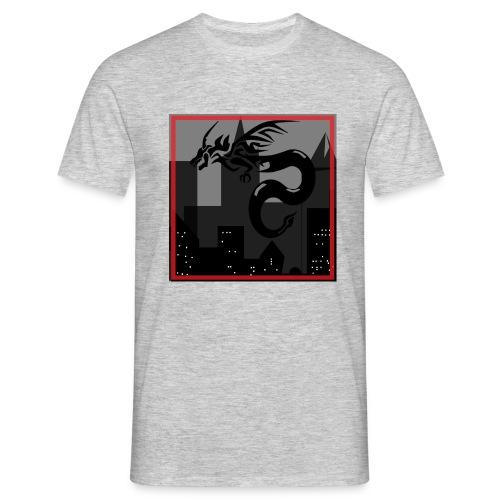 DRAGON EN LA CIUDAD - Camiseta hombre