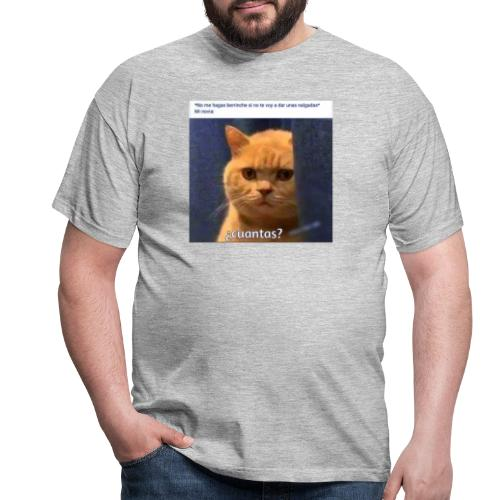 Cat nalgadas - Camiseta hombre