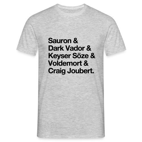 Les méchants - T-shirt Homme