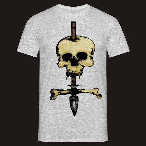 Skull Symbol - Männer T-Shirt