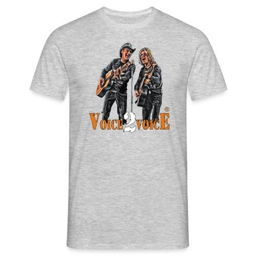 Voice-2-Voice_T-Shirt NEU - Männer T-Shirt