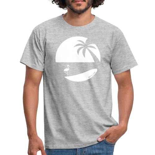 Logo French Floridian blanc - T-shirt Homme