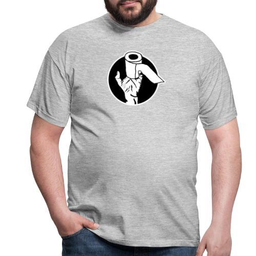 Zombie Klopapierhand - Männer T-Shirt