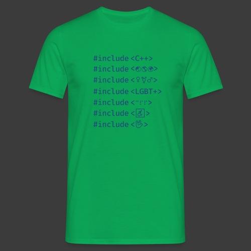 Blue Include List - Men's T-Shirt