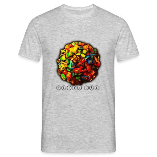 autos retro - Camiseta hombre