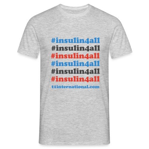 #insulin4all - Men's T-Shirt