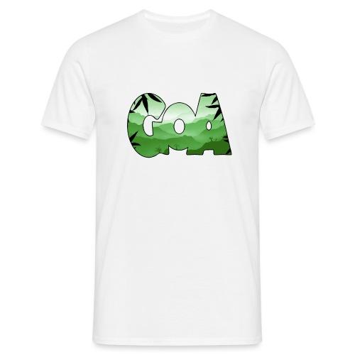 Goa logo 2 - Men's T-Shirt