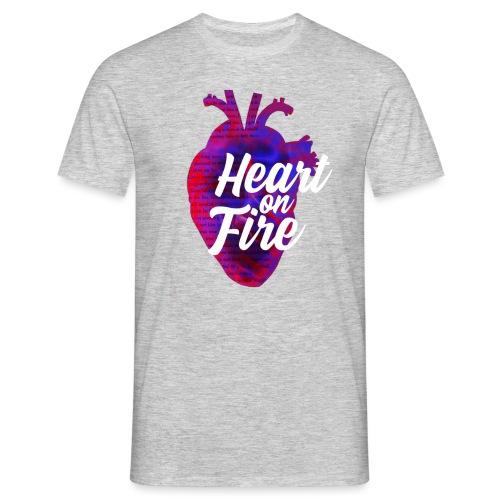 Heart on fire - T-shirt Homme