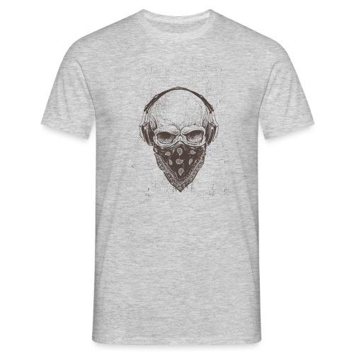 Skull Rock - Herre-T-shirt