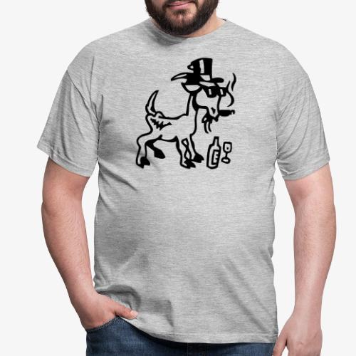 Bock auf Shirts ohne Text 30102018 8 08 - Männer T-Shirt