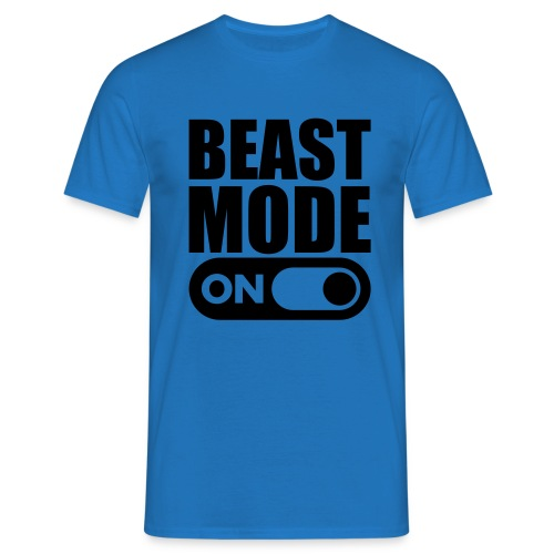 BEAST MODE ON - Men's T-Shirt