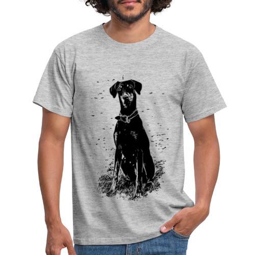 Dobermann Hunde - Männer T-Shirt