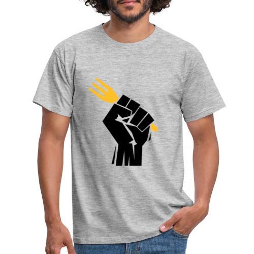 révolution révolutionnaire des frites - T-shirt Homme