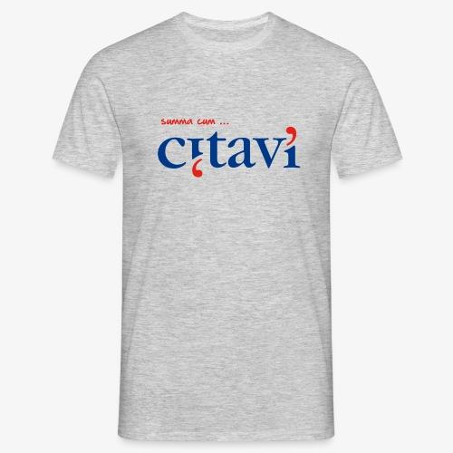 summa cum citavi - Männer T-Shirt