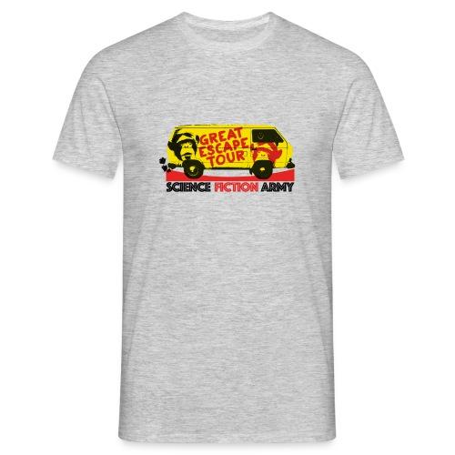 Plakat-TGE-Tour - Männer T-Shirt