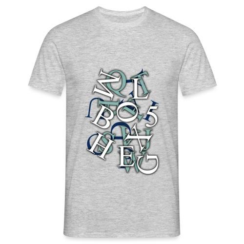Ink box5 large png - Men's T-Shirt