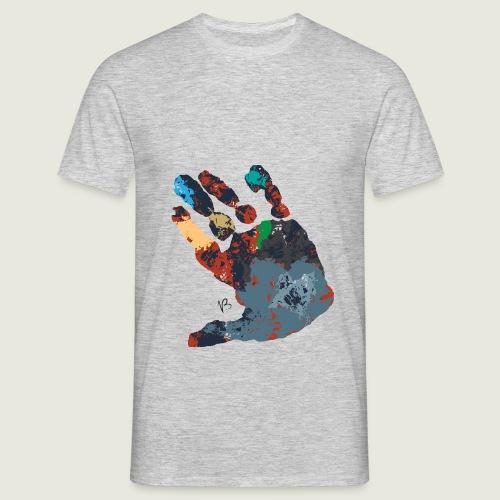 manocolor - Maglietta da uomo