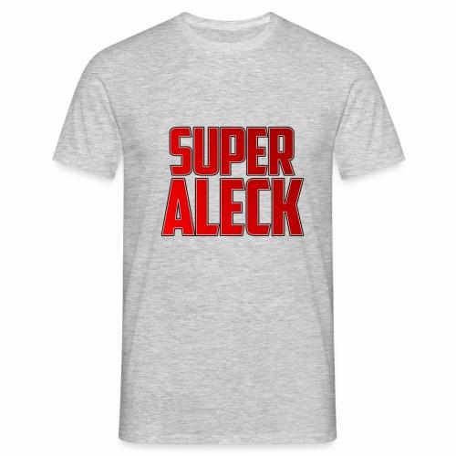 SuperAleck - T-shirt herr